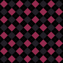 Black, Pink And Gray Argyle Pa...