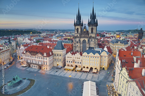 Staande foto Praag Prague.