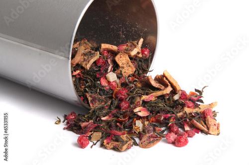 Photo  Loose mixed berry tea