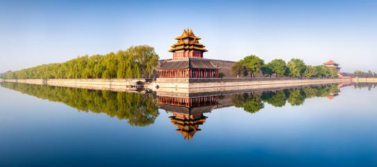 Fototapeta Verbotene Stadt in Beijing Panorama
