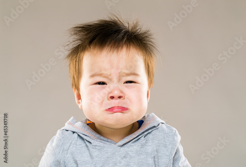 Fotomural Baby crying