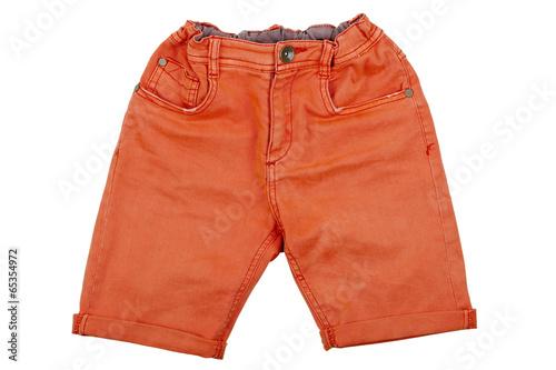 Fotografía  orange shorts