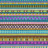 Original tribal doddle ethnic seamless pattern.