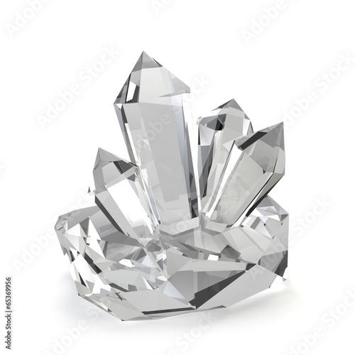Fotografie, Obraz  Crystal stones