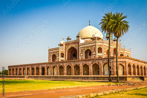 Cadres-photo bureau Delhi Humayun Tomb