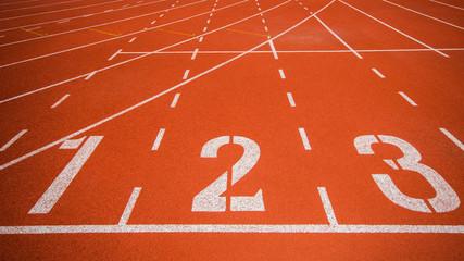 Fototapeta Athletics track