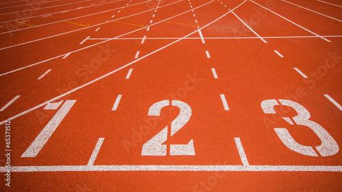 Fotografía  Athletics track