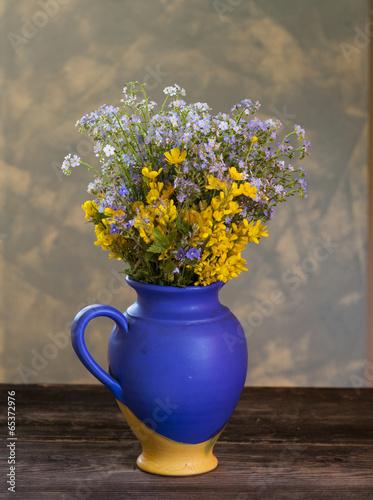 Foto op Canvas Madeliefjes wildflowers