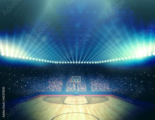 Photo Basketball arena