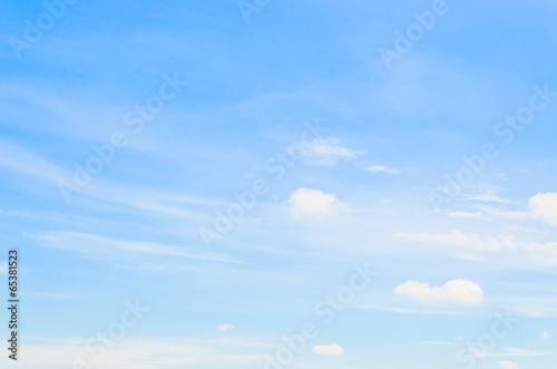 Aluminium Prints Heaven Sky clouds