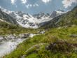 Gletscherbach in HDR