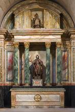 Scultpure Of St. James.  Monastery Of Santa Maria La Real De Naj