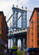 New York City Bridge Scene in Brooklyn