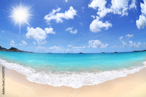 Beautiful Beach in the Summertime