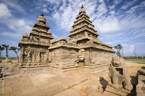 Shore Temple - Mahabalipuram - India Canvas-taulu