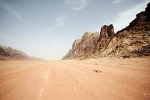 Desert Landscape - Wadi Rum, J...