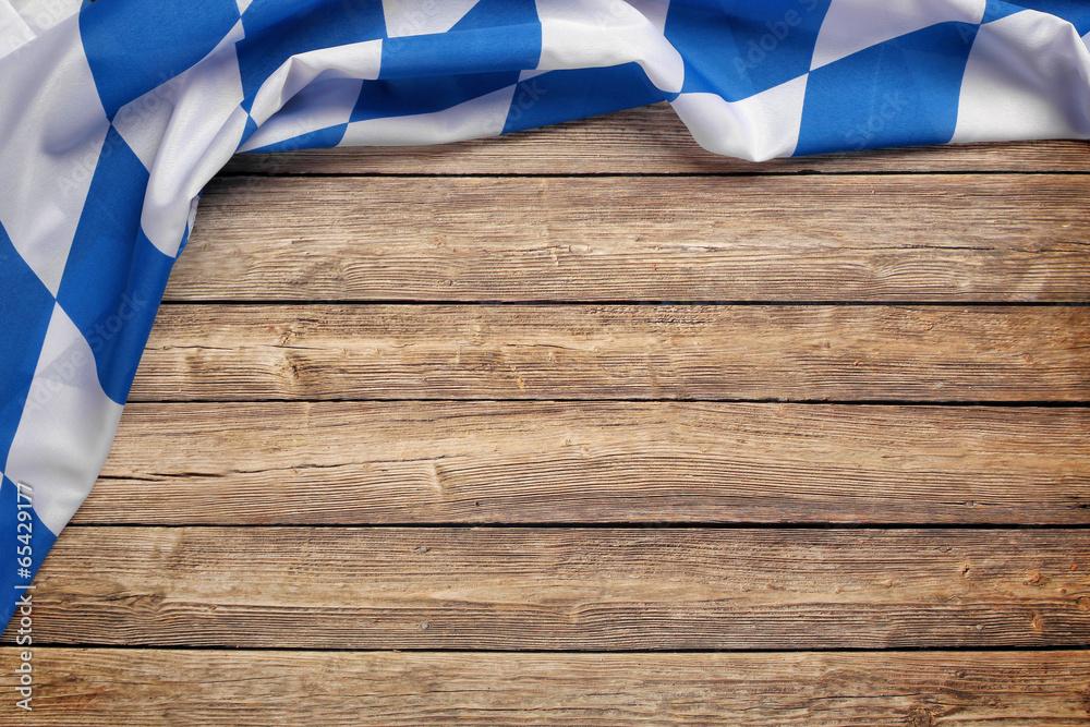 Photo & Art Print Hintergrund / Flagge / Holz zum Oktoberfest ...