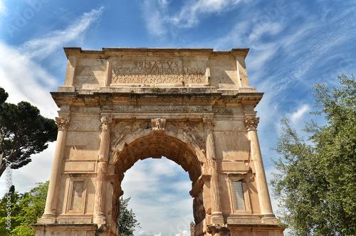 Cuadros en Lienzo Arch of Titus in Rome