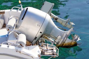 Motorboat engine