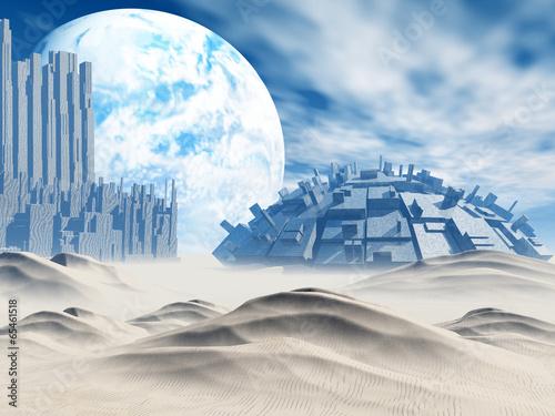 Fantasy landscape - 65461518