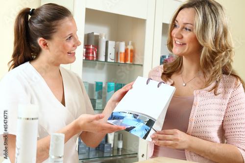 Fotografía  im Kosmetikstudio