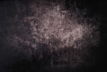Dark Grunge Background With Sc...