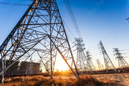 Photo  Electric tower