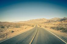 Highway Into Death Valley Nati...