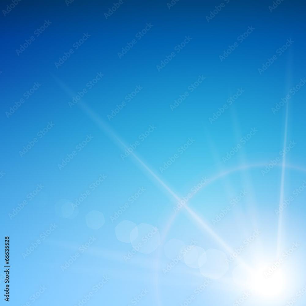 Fototapeta niebo tło wektor