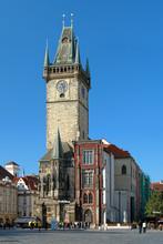 Old Town City Hall In Prague, Czech Republic