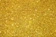 canvas print picture - gold sequins background