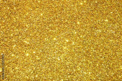 Fotografia  gold sequins background