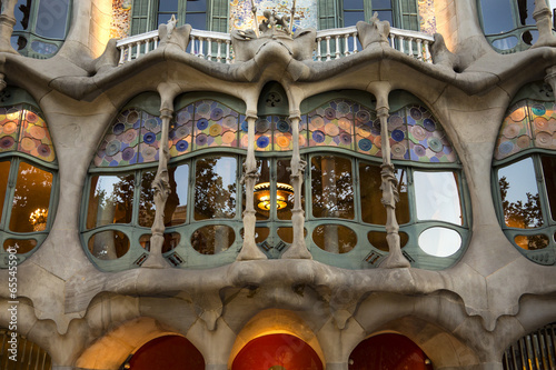Fotografia  Casa Batllo - Barcelona - Spain