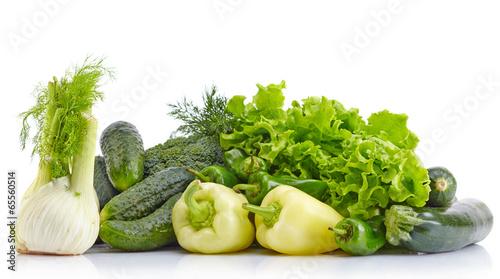 Foto op Plexiglas Groenten Fresh green vegetables