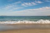 Piaszczysta plaża nad oceanem