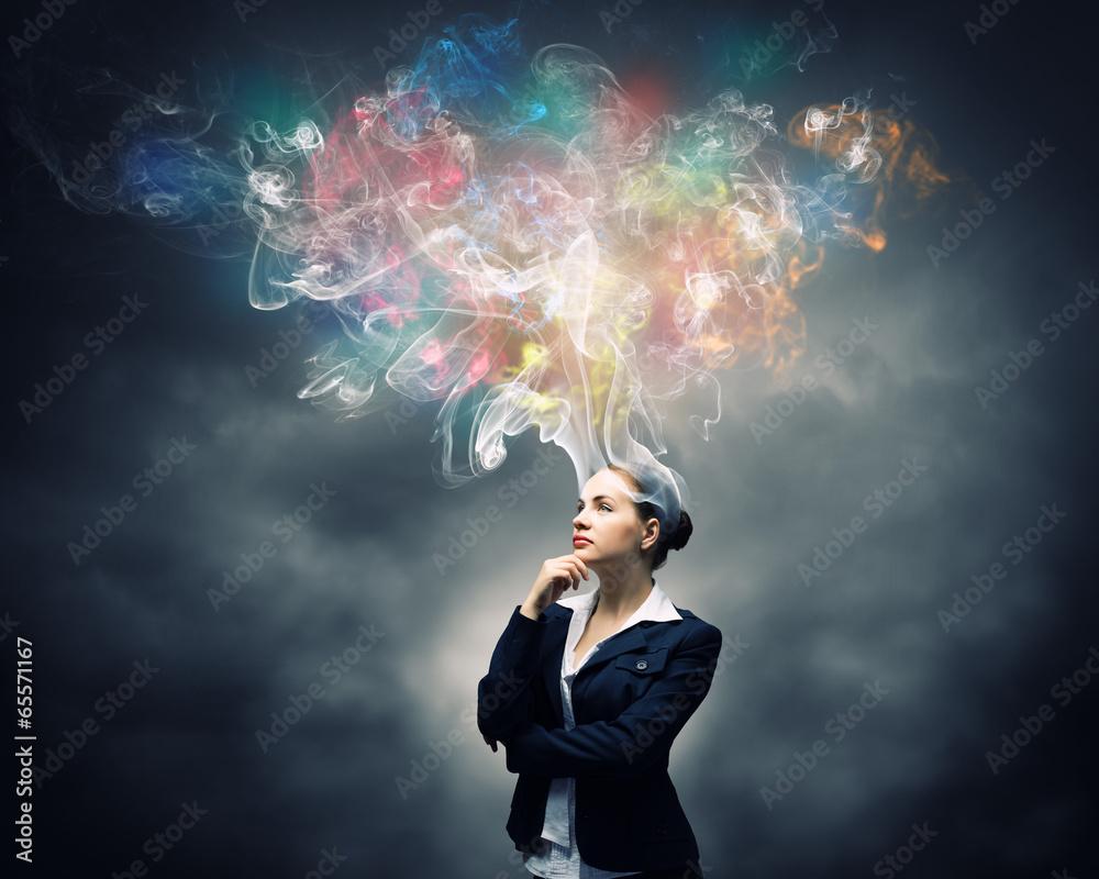 Fototapety, obrazy: Creative thinking