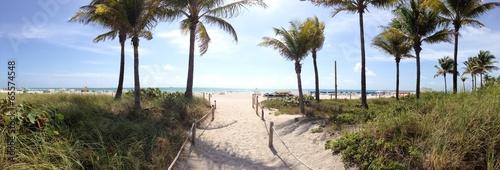 Photo  Miami Beach panorama