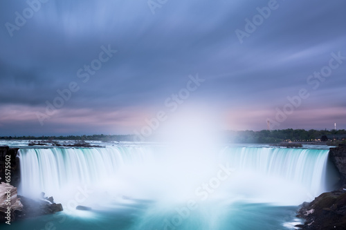 Spoed Foto op Canvas Canada Horseshoe Falls at Niagara Falls