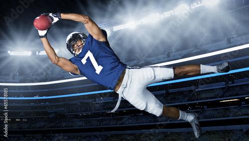 Photo  American Football Touchdown Catch