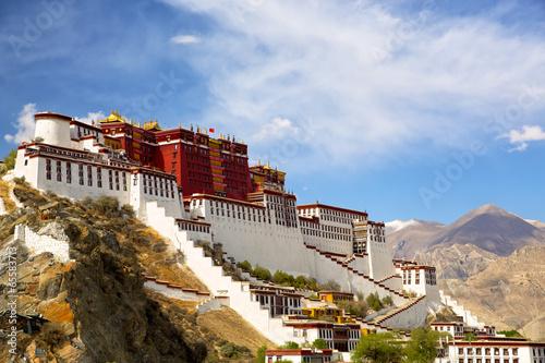 Potala palace in Lhasa, Tibet Wallpaper Mural