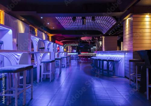 Fotografie, Obraz  Dance club interior. Organza, Bulgaria, Veliko Tarnovo