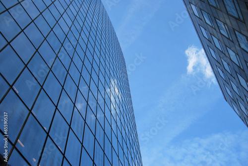 Immeuble bureaux moderne affaires extérieur u photographie