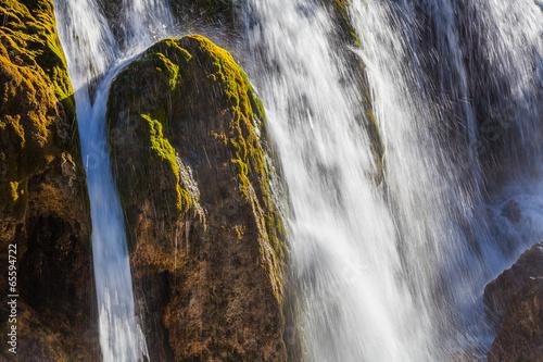 Beautiful Waterfall in Jiuzhaigou, Sichuan province