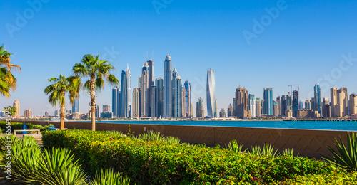 Photo sur Toile Dubai Dubai Marina. UAE