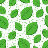 abstract background of leaves