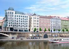 Dancing House. Prague. Czech R...