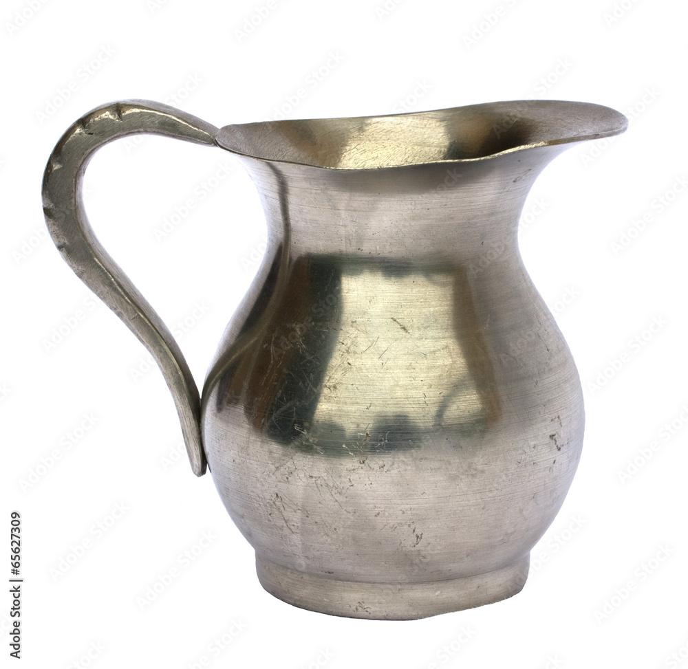 Fototapety, obrazy: Old pewter jug