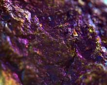 Abstract Lilac Metallic Background, Macro