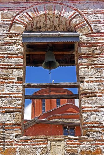 Fotografie, Obraz  Agia Anna monastery guesthouses in Mount Athos