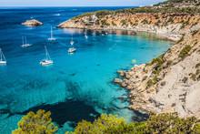 Es Vedra Island Of Ibiza  Cala D Hort In Balearic Islands